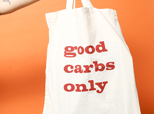 griglia bag - good carbs only